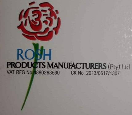 Rosh Products Manufacturers (Pty) Ltd