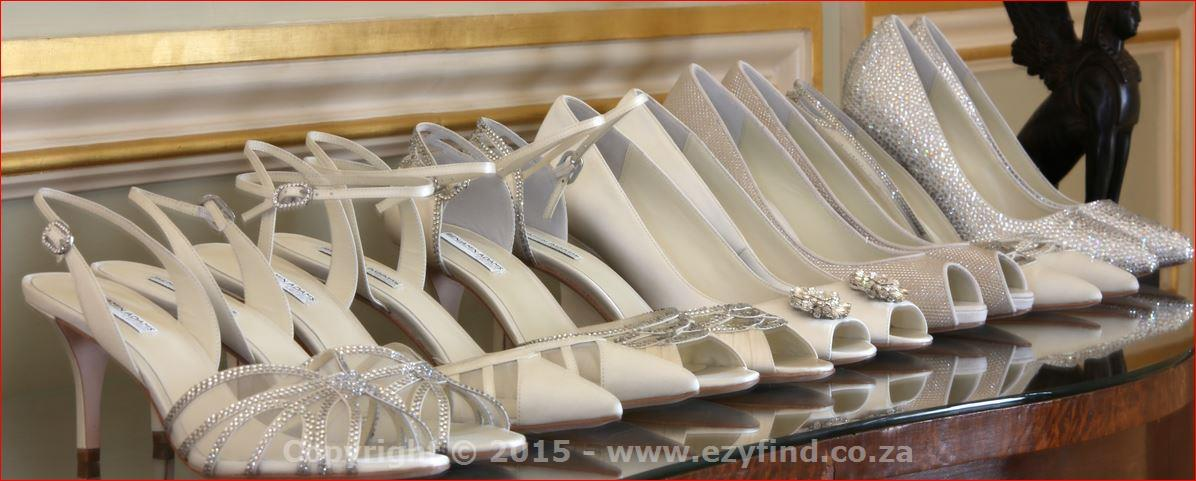 Luxury, Chic Bridal Footwear