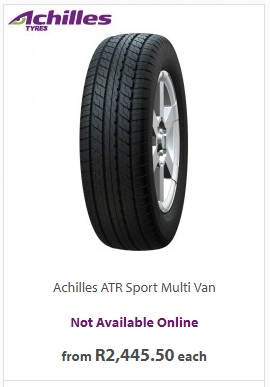 Tyres and More (Achilles Tyres)